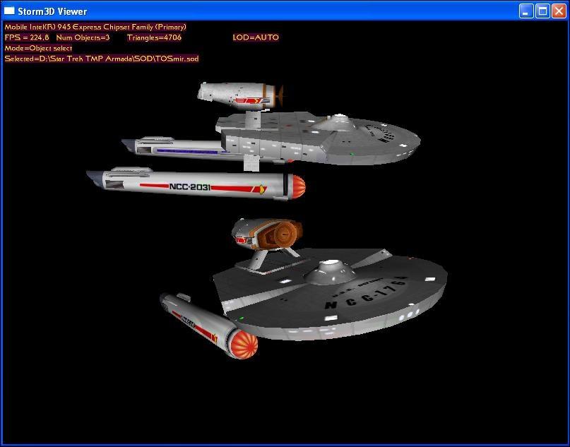 TOS era Miranda class - Star Trek: Armada Files